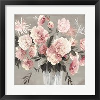 Framed Peach Bouquet