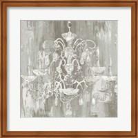 Framed Crystal Chandelier