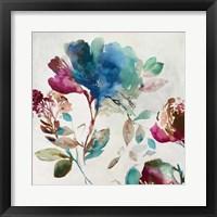 Framed Blossoming I