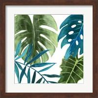 Framed Tropical Leaves I