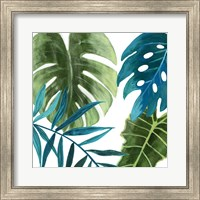 Framed Tropical Leaves I