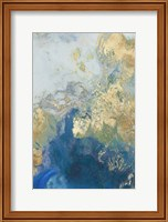 Framed Ocean Splash II
