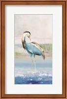 Framed Heron on the Beach I