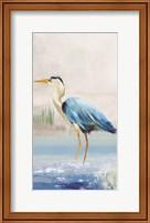 Framed Heron on the Beach II