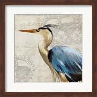 Framed Heron II