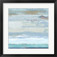 Framed Sea Shore I