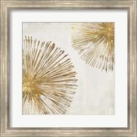 Framed Gold Star I