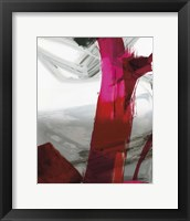 Framed Fuschia I