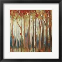 Framed Marble Forest II