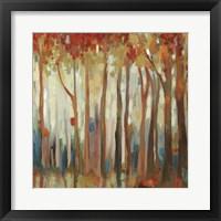 Marble Forest II Framed Print
