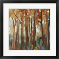 Framed Marble Forest III