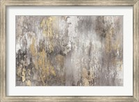 Framed Gold Ikat - Light