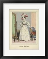 Framed Vintage Woman