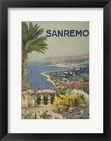 Framed San Remo