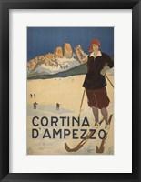 Framed Cortina D Ambrezzo