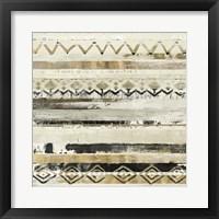 Framed African Patchwork II