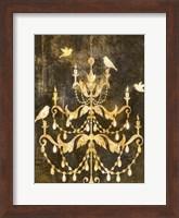 Framed Deco Gold Distress I
