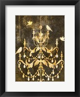 Framed Deco Gold Distress I