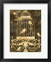 Framed Deco Gold Distress II