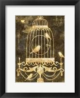 Framed Deco Gold Distress II