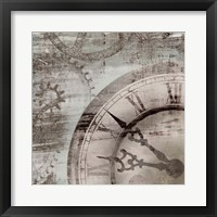 Framed Tick Tock I