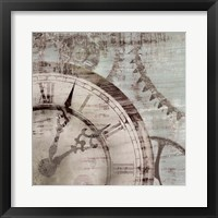 Framed Tick Tock II