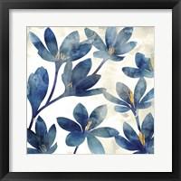 Framed Veranda Blue I