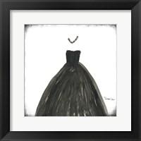 Framed Black Dress III