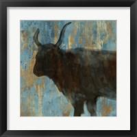 Framed Bison II