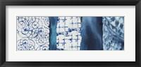 Framed Shibori Patchwork I