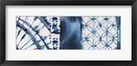 Framed Shibori Patchwork II