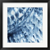 Framed Indigo Dye I