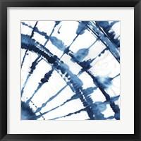 Indigo Dye II Framed Print