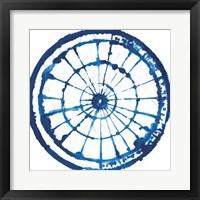 Indigo Dye III Framed Print