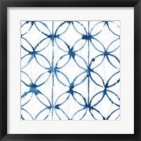 Indigo Dye IV Framed Print