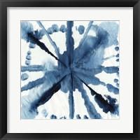 Framed Indigo Dye V