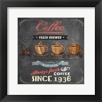 Framed Coffee Board II