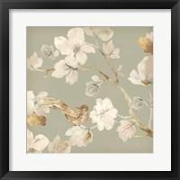 Framed Paradise Magnolia  II
