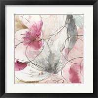 Framed Pretty in Pink II