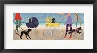 Framed Stroller Dogs II