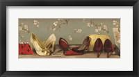 Framed Shoe Lineup