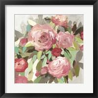 Framed Faded Roses