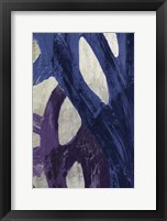 Framed Blue Abstraction II