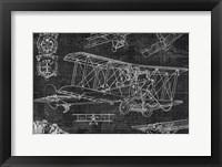 Framed Vintage Aviation II
