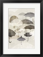 Framed Umbrella Rain II