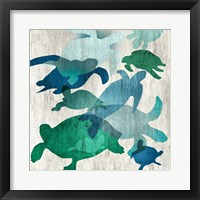 Framed Leatherback II