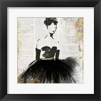Framed Lady in Black II
