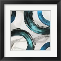 Framed Teal Ring II