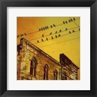 Framed Birds on a Wire I