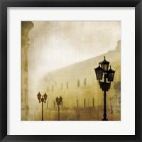 Framed Fog Town I